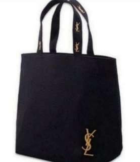 BNIP YSL Perfume Canvas Tote Bag