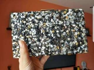 Cococlutches beade hand crafted design for formal clutch bag