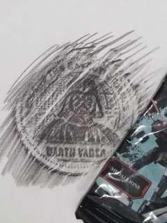 Darth Vader! Starwars coin/medallion RARE!! Sealed!