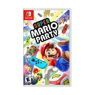 🚚 [NEW] Super Mario Party Switch