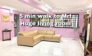 CHEAP Spacious living room