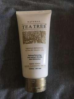 Tea tree cream cleanser
