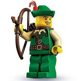 Lego Series 1 Minifigure - The Forestman (Rare and Retired Product)