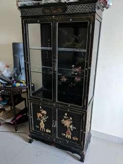 Antique chinese cabinet cupboard