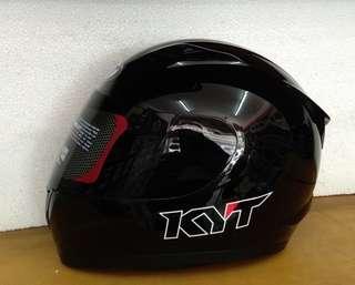 Helm KYT R10 Black metalik Full face