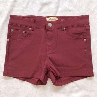 🚚 Maroon Shorts