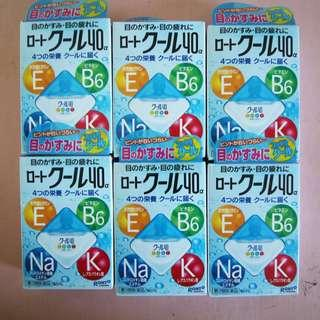 Rohto Blue / Rohto Cool Vitamin Eyedrops 12ml