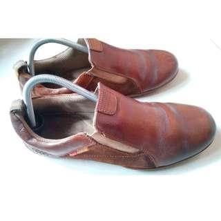 Sepatu Polo Kulit Asli Original Since 1983 Kombinasi Suede Elegan No 42