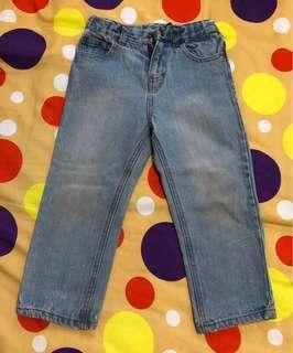 Celana panjang jeans 2-3 th