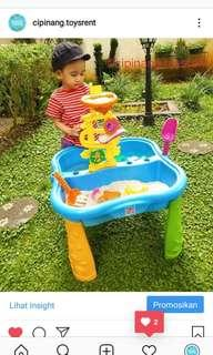 Sand water table rental