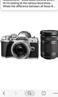 Olympus OM-D E-M10 Mark III Mirrorless Micro Four Thirds Digital Camera with 14-42mm Lens+ 40-150mm