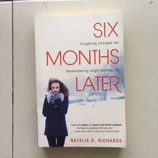 Book / Novel ; 6 Months Later
