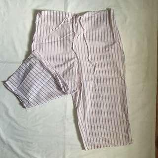 Garterized Square Pants