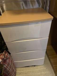 四斗櫃接近全新 儲物櫃桶 storage cabinet