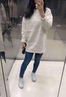 🚚 正韓 米白色上衣 #半價衣服市集