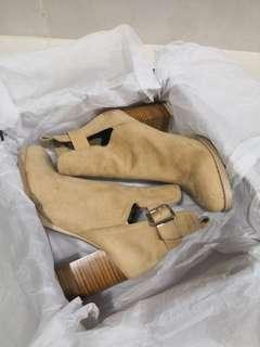 Snidel 啡色高踭鞋