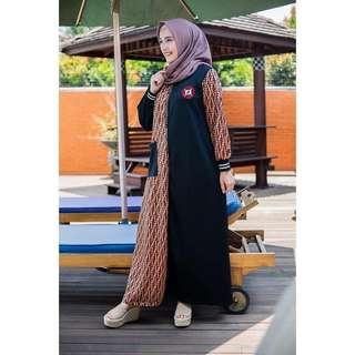 Gamis Scuba Adelia Real Picture High Quality