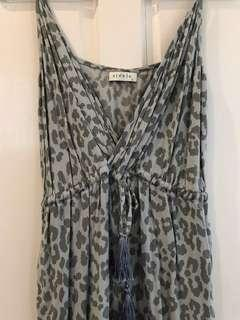 Steele Jumpsuit - Grey - Size 8