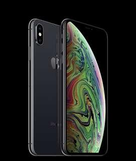 Iphone XS Max 64GB space grey Unopened