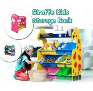 Storage rack for kids