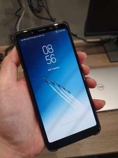 samsung a8 (2018), under warranty, bought q4 2018.