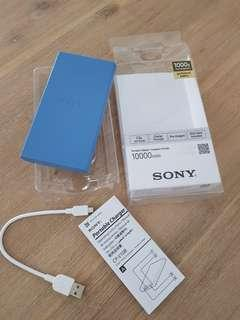 SONY PORTABLE CHARGER 10400MAH