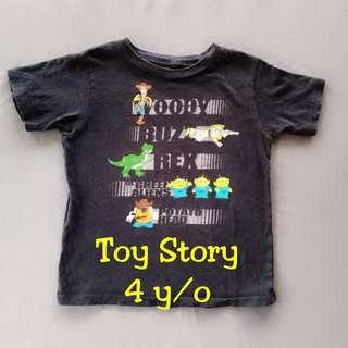 🐐Toy Story Black T-shirt