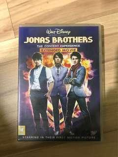 🚚 jonas brothers the concert experience extended movie