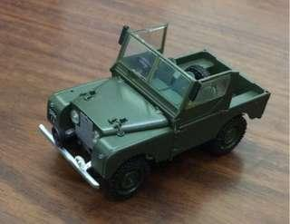 1:43 Vanguard Land Rover Series 1 Diecast Model 越野路華/路虎合金車