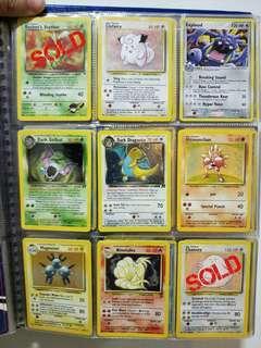 Pokemon Cards - Rare Holo 3