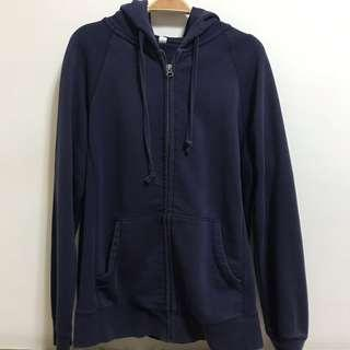 🚚 Lativ 深藍連帽外套#半價衣服市集