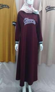 Gamis Babat Cheers High Quality