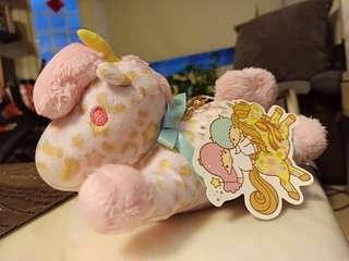 櫻花🌸雙子星系列獨角獸卡夾娃娃吊飾