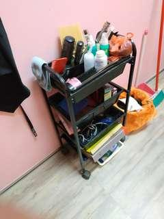 Barber rack and accessories
