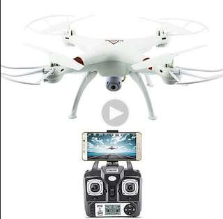 Drone RC Quadcopter X53 Wireless WiFi 2.4GHz 0.3MP Camera Remote RC Real Time Quadcopter Drone Helicopter Aircraft