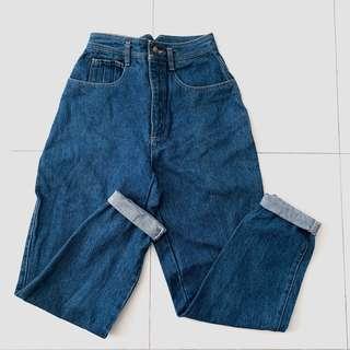 🚚 super highwaisted mom / bf vintage jeans