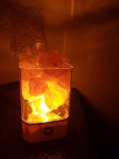全新usb喜馬拉雅山鹽燈
