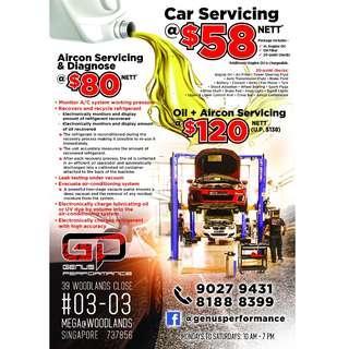 Car Servicing / Aircon Servicing