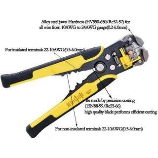 Tang Kabel Multifungsi Wire Cutter Pliers - MT103 - Yellow