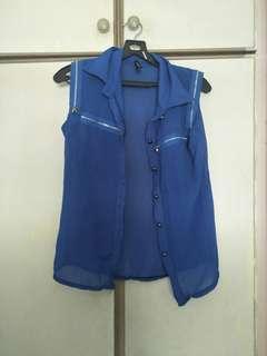 🚚 Blue Blouse
