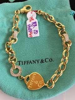 Real Gold Tiffany Bracelet