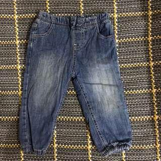 🚚 mothercare 牛仔褲/12-18cm