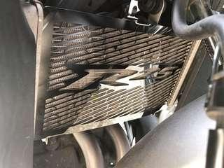 Yamaha r25 radiator cover
