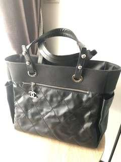 🚚 Chanel Biarritz Large in Black