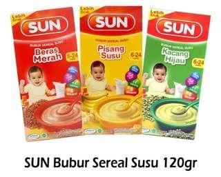 SUN Bubur Cereal Susu
