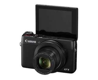 🚚 Canon Powershot G7X