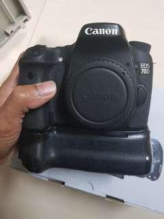 🚚 canon 70d body only