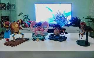 One piece figure action