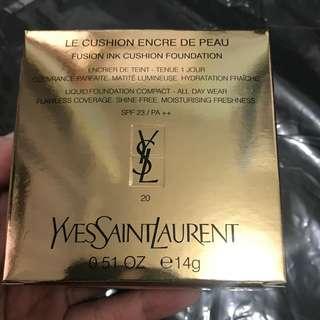 YSL 恆久完美氣墊粉餅 自然白 20號色 CUSHION FOUNDATION