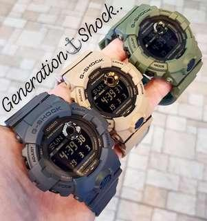 🚚 NEW🌟ARRIVAL in GSHOCK DIVER SPORTS WATCH : 100% ORIGINAL AUTHENTIC G-SHOCK STEP-TRACKER WIRELESS BLUETOOTH SMARTPHONE ANDROID LINK: Best For Most Rough Users & Unisex : GBD-800UC-3 / GBD-800UC-5 / GBD-800UC-8 / CASIO / GSHOCK / WATCH